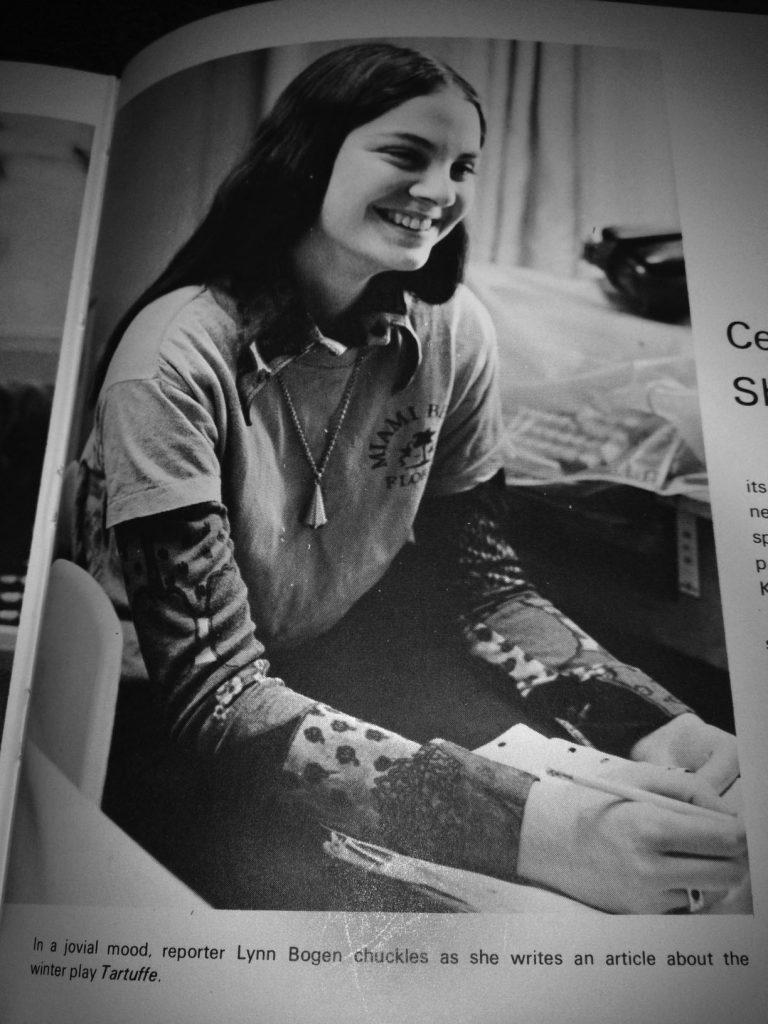 High School Editor Lynn Sanders